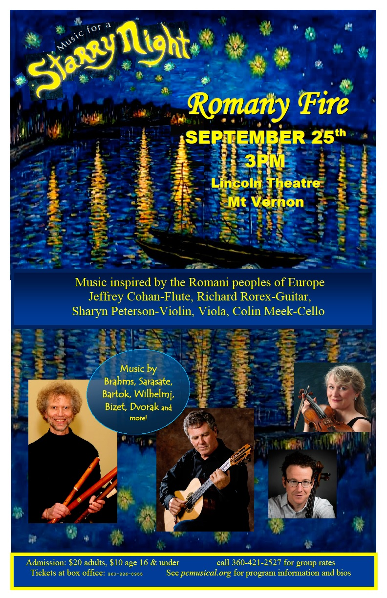 Romany Fire concert information