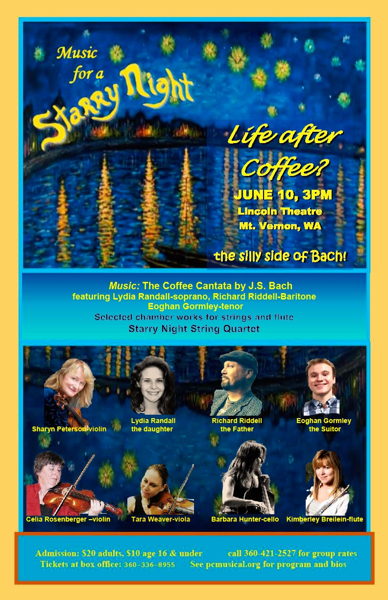Bach's Coffee Cantata at the Lincoln Theater